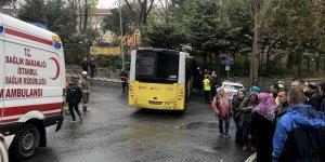 Beşiktaş'ta belediye otobüsü kaza yaptı: 9 yaralı
