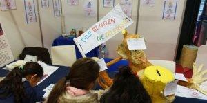 """""""37. Uluslararası İstanbul Kitap Fuarı""""nda çocuklar kitaplarla ilgili dilek tuttu!"""