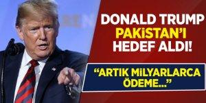 ABD Başkanı Trump: Pakistan'a artık milyarlarca dolar ödeme yapmayacağız