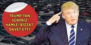 Trump'tan Alman otomobil devlerine sürpriz davet