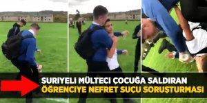 Suriyeli mülteci çocuğa saldıran öğrenciye nefret suçu soruşturması