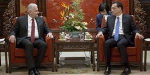 TBMM Başkanı Yıldırım, Çin Başbakanı Kıçiang ile görüştü