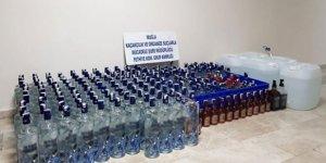 Muğla'da Yılbaşı öncesi sahte içki operasyonu!