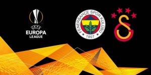UEFA Avrupa Ligi'ndeki temsilcilerimiz Fenerbahçe ve Galatasaray'ın rakipleri belli oldu