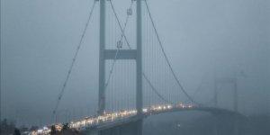 İstanbul'da sis etkili oluyor!