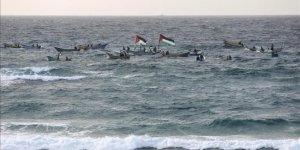 İsrail Gazze sahilinde 2 Filistinliyi yaraladı