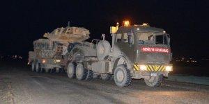 Suriye sınırına askeri sevkiyat o ilçeye ulaştı!