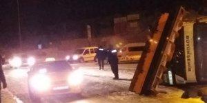 Ankara'da otobüs kazası: 1 yaralı