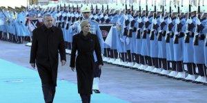 Başkan Erdoğan, Kitaroviç'i resmi törenle karşıladı