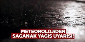 Dikkat! Meteorolojiden yağış uyarısı