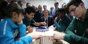 Milli Eğitim Bakanı Ziya Selçuk, Bursa'da