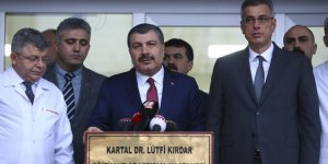 Sağlık Bakanı Koca: Kartal'da çöken binadan kurtarılan 13 yaralıdan 7'si yoğun bakımda