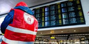 Belçika hava sahası grev nedeniyle kapatıldı