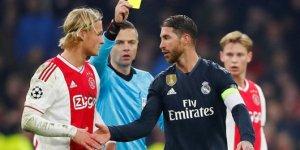 UEFA'dan Ramos'a için soruşturma!