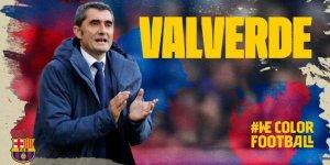Barcelona Valverde'yi açıkladı! 2021'e kadar...