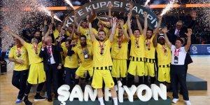 Erkekler Türkiye Kupası Fenerbahçe'nin