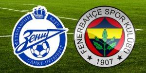 Zenit Fenerbahçe UEFA maçı ne zaman saat kaçta hangi kanalda? Fenerbahçe nasıl tur atlar?