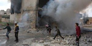 İdlib'e hava ve kara saldırısı: 3 ölü