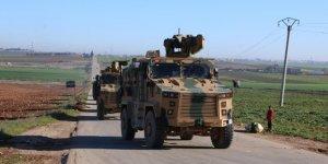 TSK Suriye'nin İdlib şehrinde devriyeye başladı