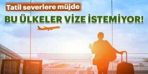 Türk Vatandaşlarından Vize İstemeyen Ülkeler