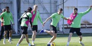 Konyaspor, Lider Başakşehir maçı hazırlıklarını sürdürdü