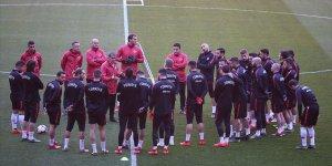 A Milli Futbol Takımı Moldova maçına hazır
