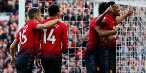 Manchester United sahasında kazandı
