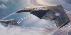 Dünyanın konuştuğu yeni uçak! Uçuş sırasında şeklini değiştiriyor