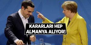 Çipras'tan AB'ye Almanya eleştirisi