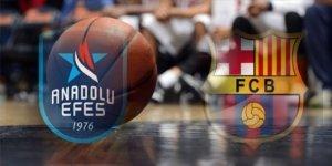 Anadolu Efes Barcelona Lassa basket maçı ne zaman saat kaçta hangi kanalda?