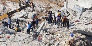 Suriye'nin İdlib kentinde patlama! Çok sayıda ölü var..