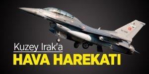 Irak'ın kuzeyi Hakurk ve Avaşin-Basyan bölgelerine hava harekatı!