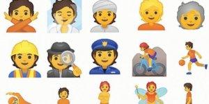 Yeni 'cinsiyetsiz' emojiler