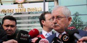 YSK Başkanı Güven, Yeni listeler olmayacak, sadece sandık kurulları değişecek!