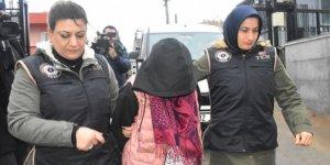 DEAŞ'lı kadın teröristi sınıra PKK'lılar ulaştırmış!