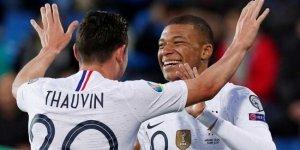 Fransa'dan Andorra'ya 4 gol