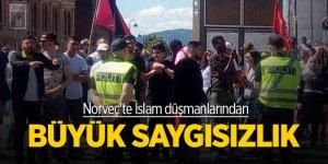 Norveç'te İslam düşmanlarından büyük saygısızlık