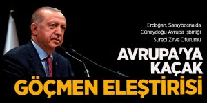 """Erdoğan'dan  Avrupa'ya sert eleştiri  """"Sözlerini tutmadılar""""!"""