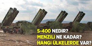 S-400 nedir? Menzili ne kadar? Hangi ülkelerde var?