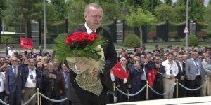 Beştepe'de ilk tören düzenlendi
