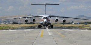 S-400 sevkiyatı sürüyor!  11. uçak Mürted Hava Üssü'ne indi