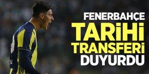Fenerbahçe tarihi transferi duyurdu