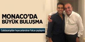 Beklenen fotoğraf! Galatasaraylıları heyecanlandıran Falcao ve Albayrak