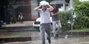Meteoroloji o bölgeleri sağanak yağış için uyardı!