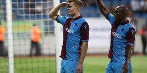 Trabzonspor'un yeni golcüsü Sörloth 3'te 3 yaptı!