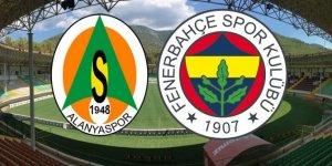 Alanyaspor Fenerbahçe maçı saat kaçta, hangi kanalda?