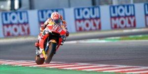 San Marino'da kazanan Marquez