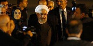 İran Cumhurbaşkanı Hasan Ruhani Ankara'ya geldi!
