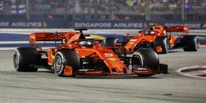 Singapur'da şampiyonluk Sebastian Vettel'in
