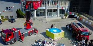 Malatya'ya 42 metre merdivene sahip itfaiye aracı